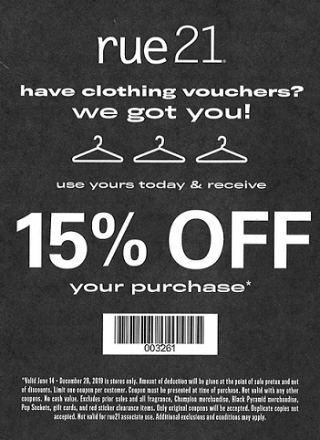 photograph about Rue 21 Coupons Printable referred to as Contain apparel vouchers? Ashland, KY Ashland City Middle